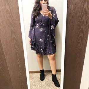 Free People Jasmine embroidered boho mini Dress